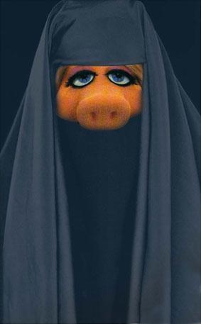 lolol guess burka clad bummers burka pigs