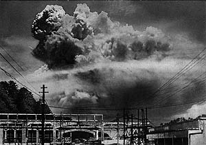the ravages after the dropping of the atomic bomb Less than a month later, atomic bombs were dropped on the japanese cities of hiroshima and nagasaki missouri, told cnn: at the time.